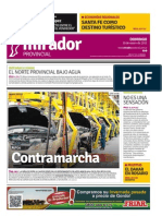 Edición impresa del 18 de enero de 2015