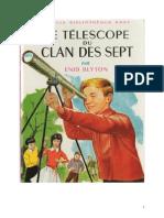 Blyton Enid Le Clan des Sept 12 Le télescope du Clan des Sept 1960.doc