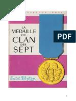 Blyton Enid Le Clan des Sept 14 La médaille du Clan des Sept 1962.doc