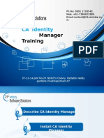 CA Identity Manager Training 21st Century +917386622889.ppt