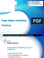 Page Object Modeling Training 21st Century +917386622889.ppt