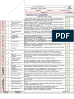 5S CFT Audit Checklist-FY 2014-15
