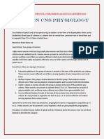 Notes on CNS Physiology by Medical Study Center(2)