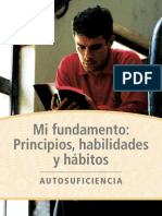 Mi Fundamento:Principios, habilidades y hábitos