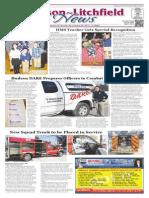 Hudson~Litchfield News 1-30-2015