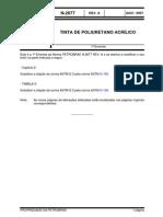 N-2677_tinta de Poliuretano Acrílico