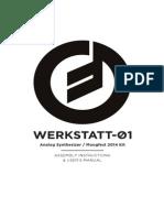 Werkstatt ø1 Manual