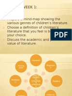 Personal Values and Academic Values of Children's Literature