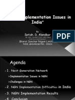 NGN - Implementation Issues in India