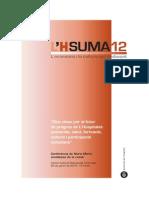 """20150120 Conferència LHsuma12 2015, """"Cinc claus pel futur de progrés de L'Hospitalet"""