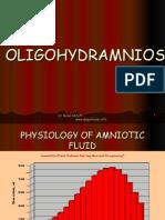 oligohydramnio