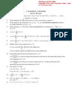 Iia-5. Binomial Theorem