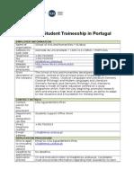 840Practicas Erasmus en Portugal