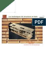 Les Techniques de Structure Bois Alain Comparot Eribois