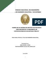 Tesis Para Titulo de Ing Industrial - Mejora de Procesos