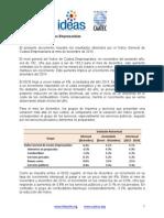Reporte Mensual (Diciembre 2014) - Índice General de Costos Empresariales