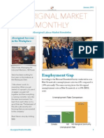 January 2015 Aboriginal Market Monthly