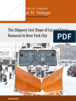 City Comptroller report on snow removal in NYC
