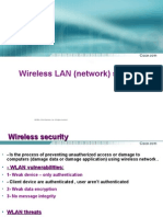 Lecture 9 WLAN Security