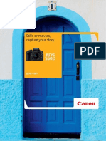 Canon EOS 550D Brochure