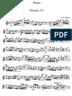 Sonatas for Flute by Friedrich Händel; Volumen 2 (Flute Part)