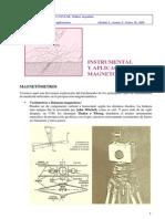 Tema 05 Instrumental y Aplicaciones Magnetométricas