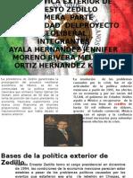 La política exterior de Ernesto Zedillo 5am.pptx