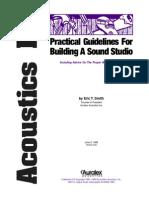 Acoustics 101 - Practical Guide for Building a Sound Studio