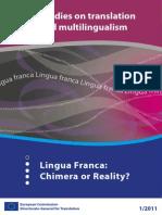 Lingua Franca_ Chimera or Reality