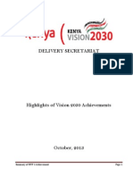 Summary of Vision 2030 Achievements -1