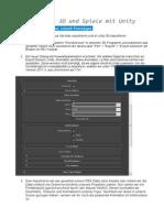 Unity 3D Beginner Sitzung 02 Handout