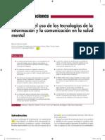 Impacto de las nuevas tecnologías de la información y la comunicación en la salud mental