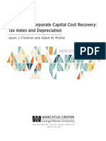 Options for Corporate Capital Cost Recovery