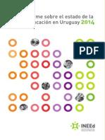 Informe Sobre El Estado de La Educacion en Uruguay 2014