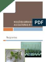 Noções Gerais Para as Culturas in Vitro_Publ
