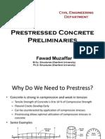 Prestressed Concrete Preliminaries