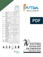 Avtek PHP 1250 Español v 1.1