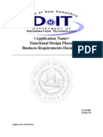 AppendixB-FunctionalDesignPhaseBusinessequirementsDocument021805
