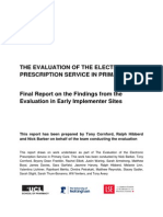 CfHEP 004 Final Report 27 Jan 2014