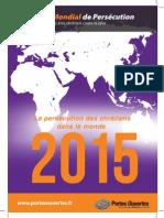 Rapport Index Mondial de Persecution