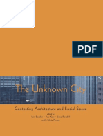 URBANISM SOCIOLOGIE Borden I-Kerr J-Rendell J-Pivaro a the Unknown City Contesting Architecture and Social Space