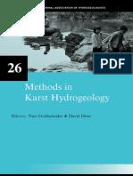 2007 Methods in Karst Hydrogeology IAH International Contributions to Hydrogeology 26 International Contributions to Hydrogeology
