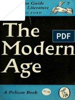 The Pelican Guide to English Literature - The Modern Age