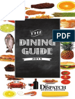 Dining Guide 2015