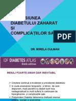 Răspandirea Diabetului Si Complicațiilor Sale