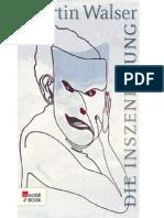 Die Inszenierung (German Edition) - Walser, Martin