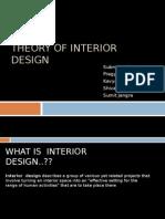 Theory of interior design