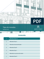 Tipos de Monedas- Banco de Mexico