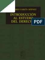 Investigación de Introducción al Derecho