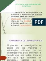 Diapositivas Investigacion Cientifica